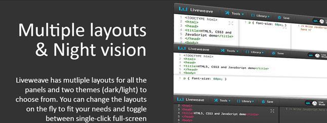 Il miglior editor online HTML, CSS e JS