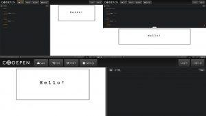 Codepen layout