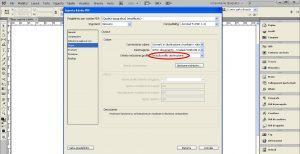 esportare un PDF per la stampa