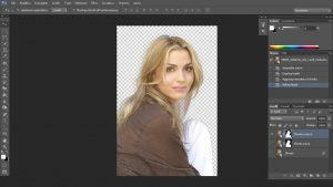 scontornare i capelli con Photoshop