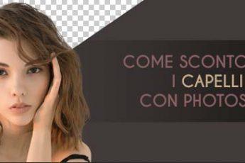 Scontornare i capelli con Photoshop