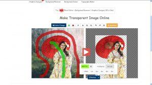 scontornare foto online con edit photos for free