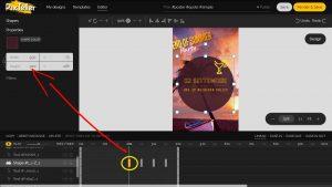 come creare grafiche online animate con PixTeller