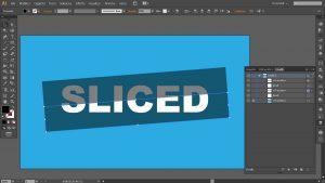 come tagliare un testo su Illustrator
